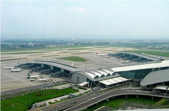 广州白云机场三期改造航站楼