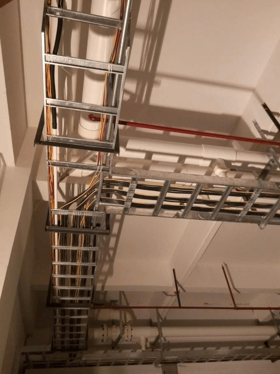 华为电缆桥架安装图二
