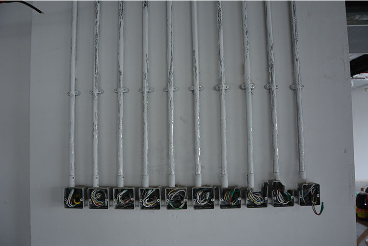 镀锌线管安装图