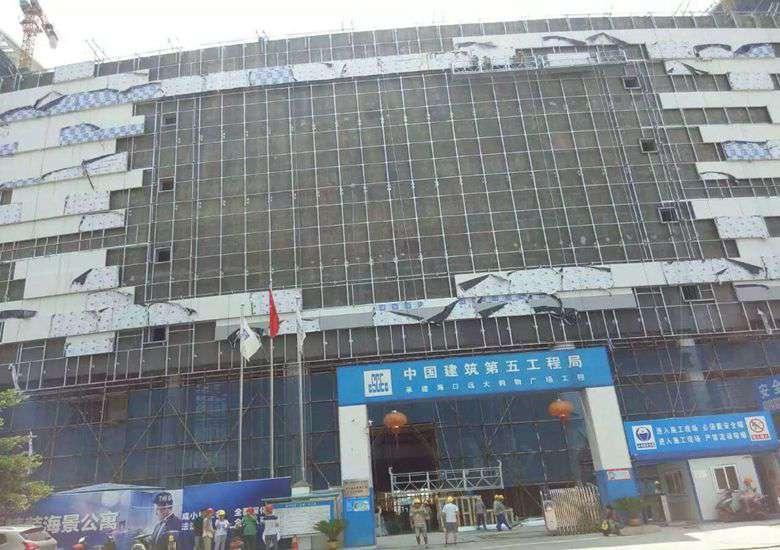 海口远大购物中心JDG管案例