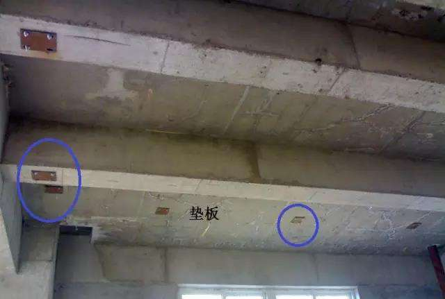 电缆桥架垫板固定