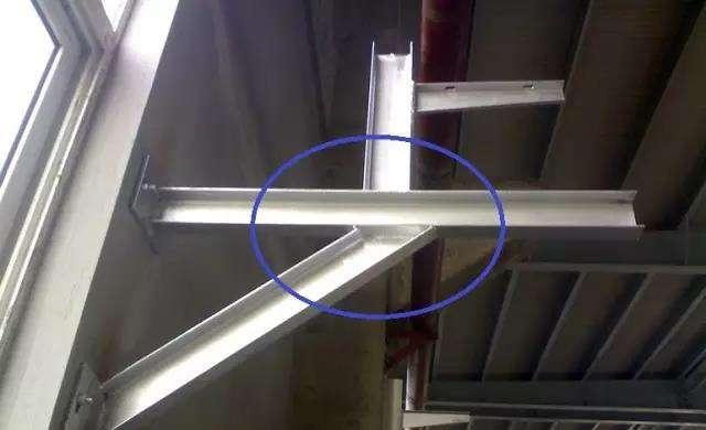 立柱焊接图