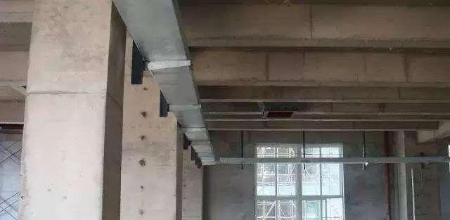 电缆桥架安装成品