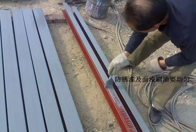 电缆桥架涂漆
