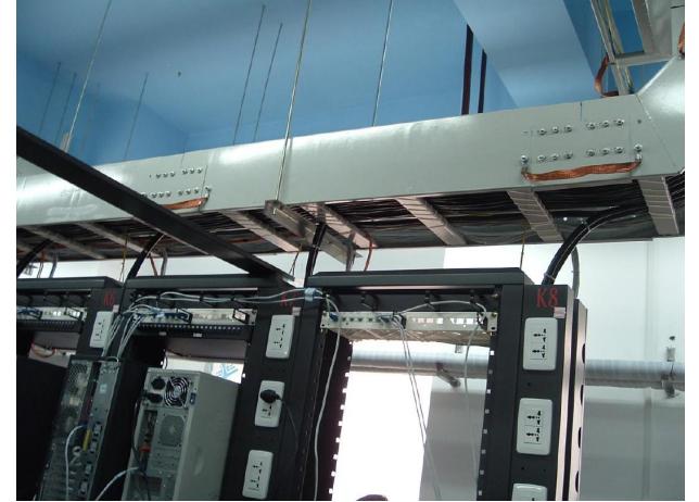 电缆桥架安装效果图